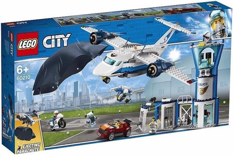 60210 Lego City Воздушная полиция: Авиабаза, Лего Город Сити