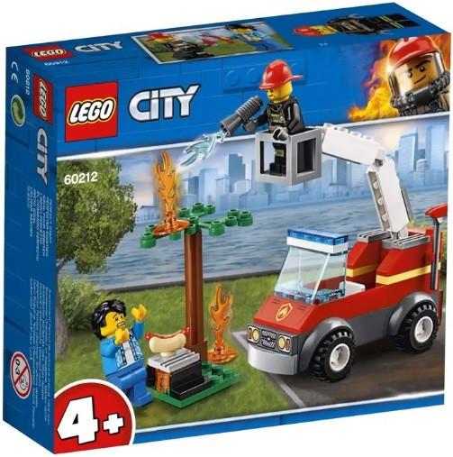 60212 Lego City Пожарные: Пожар на пикнике, Лего Город Сити