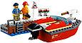 60213 Lego City Пожарные: Пожар в порту, Лего Город Сити, фото 6