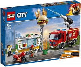 60214 Lego City Пожарные: Пожар в бургер-кафе, Лего Город Сити