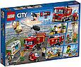 60214 Lego City Пожарные: Пожар в бургер-кафе, Лего Город Сити, фото 2