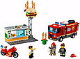 60214 Lego City Пожарные: Пожар в бургер-кафе, Лего Город Сити, фото 4