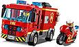 60214 Lego City Пожарные: Пожар в бургер-кафе, Лего Город Сити, фото 6