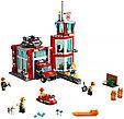 60215 Lego City Пожарные: Пожарное депо, Лего Город Сити, фото 3