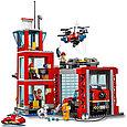 60215 Lego City Пожарные: Пожарное депо, Лего Город Сити, фото 4