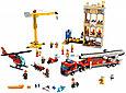 60216 Lego City Пожарные: Центральная пожарная станция, Лего Город Сити, фото 7