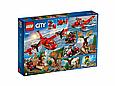 60217 Lego City Пожарные: Пожарный самолет, Лего Город Сити, фото 2