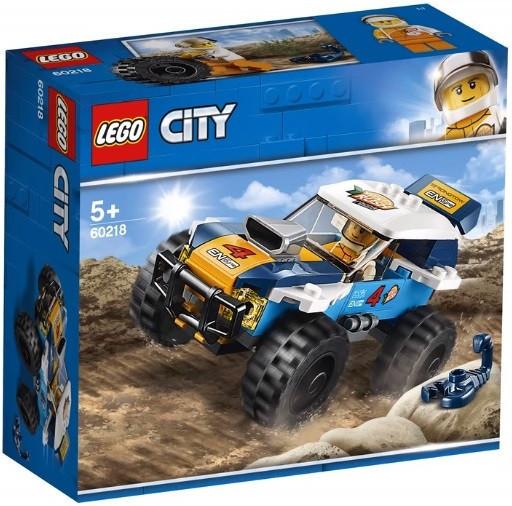 60218 Lego City Транспорт: Участник гонки в пустыне, Лего Город Сити