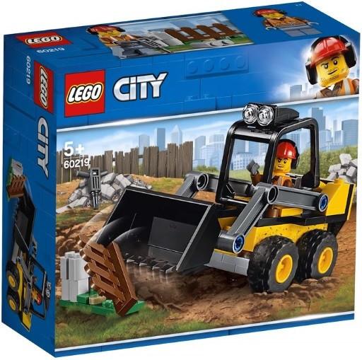 60219 Lego City Транспорт: Строительный погрузчик, Лего Город Сити