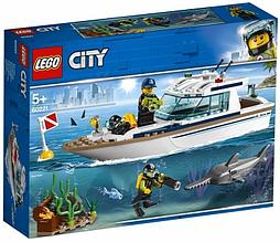 60221 Lego City Транспорт: Яхта для дайвинга, Лего Город Сити
