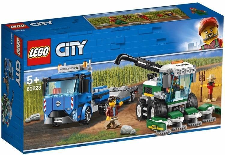 60223 Lego City Транспорт: Транспортировщик для комбайнов, Лего Город Сити