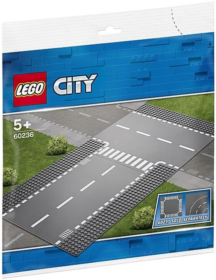 60236 Lego City Прямой и Т-образный перекрёсток, Лего Город Сити