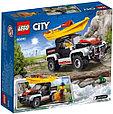 60240 Lego City Сплав на байдарке, Лего Город Сити, фото 2