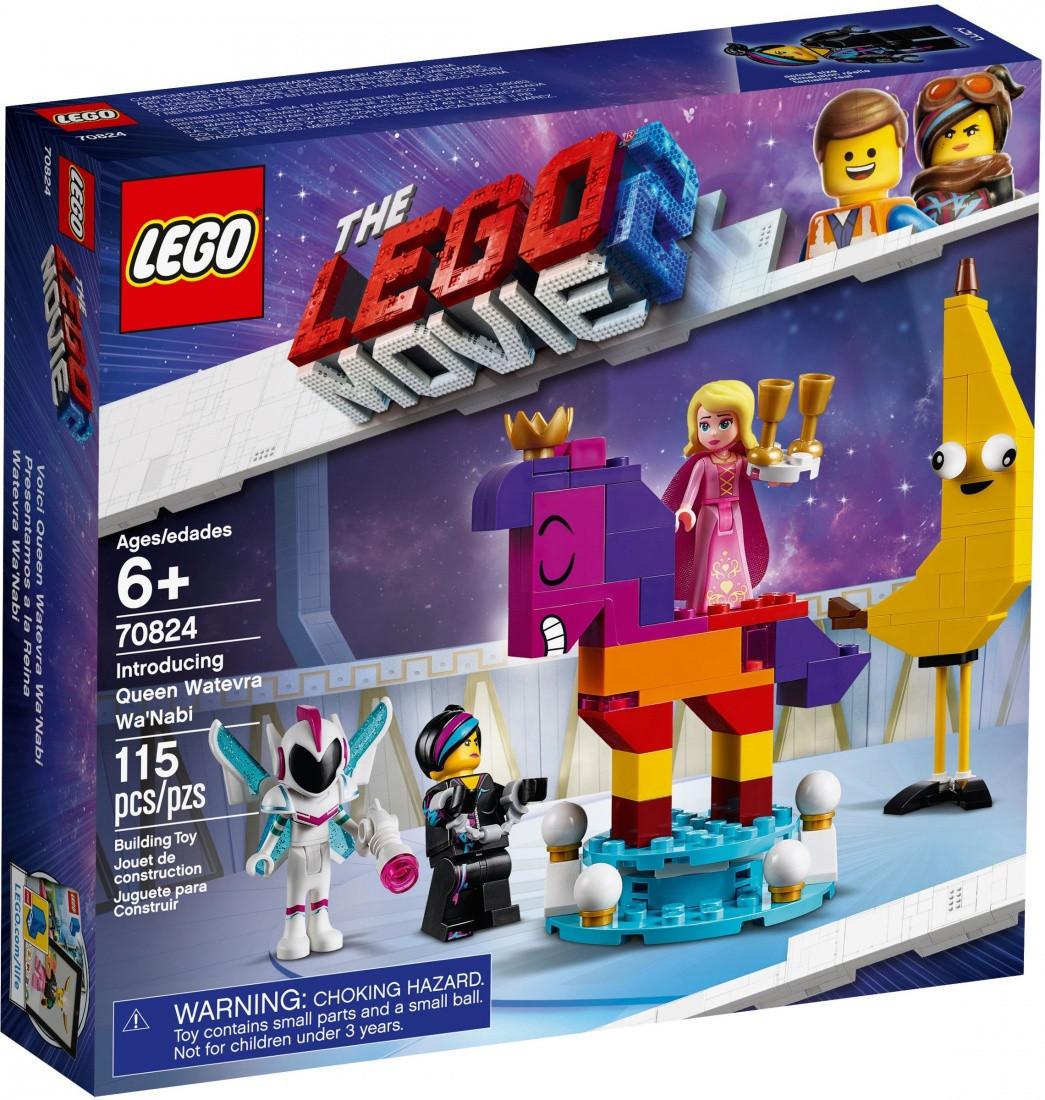 70824 Lego Лего Фильм 2: Познакомьтесь с королевой Многоликой Прекрасной