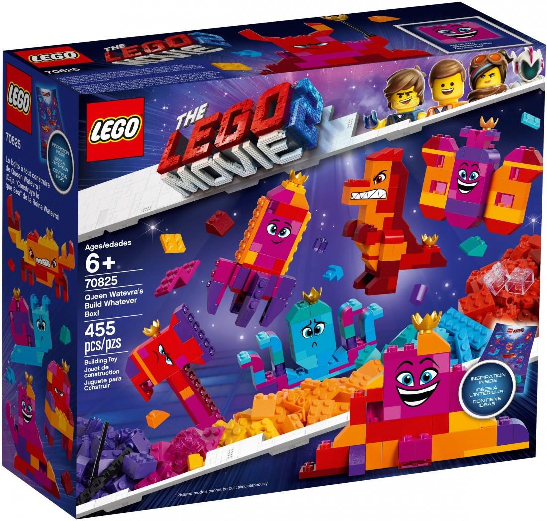 70825 Lego Лего Фильм 2: Шкатулка королевы Многолики «Собери что хочешь»
