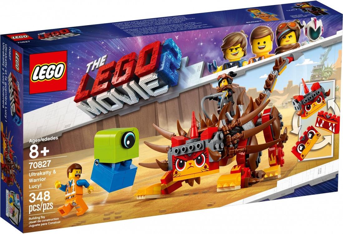 70827 Lego Лего Фильм 2: Ультра-Киса и воин Люси