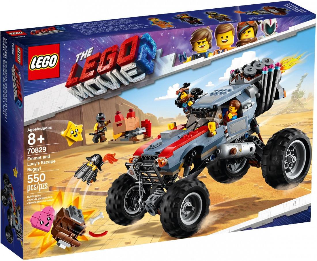 70829 Lego Лего Фильм 2: Побег Эммета и Дикарки на багги