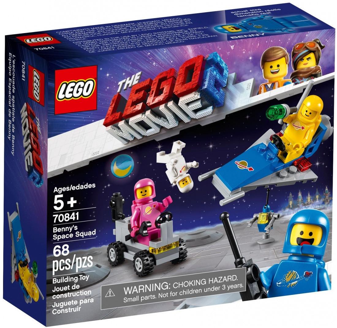 70841 Lego Лего Фильм 2: Movie Космический отряд Бенни