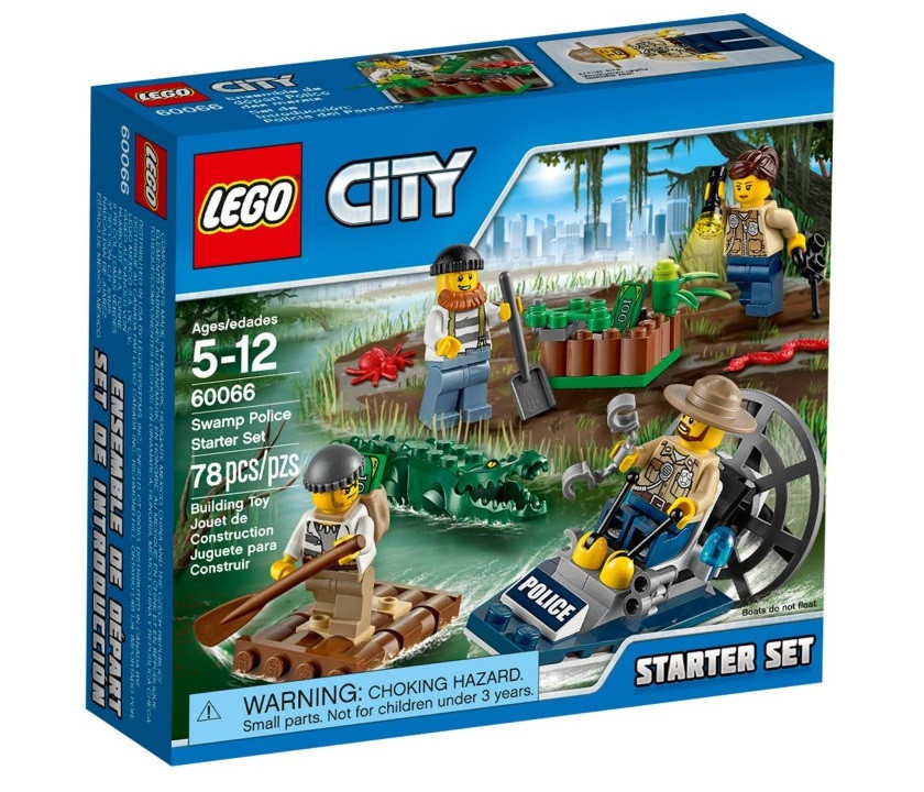 60066 Lego City Новая Лесная Полиция для начинающих, Лего Город Сити