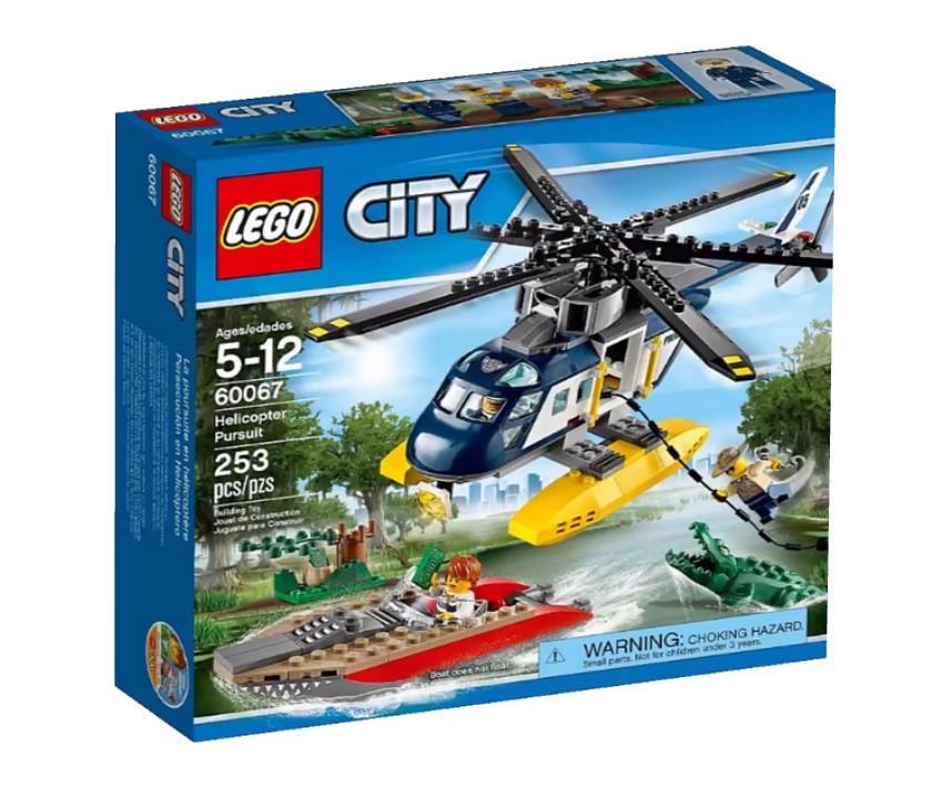 60067 Lego City Погоня на полицейском вертолёте, Лего Город Сити
