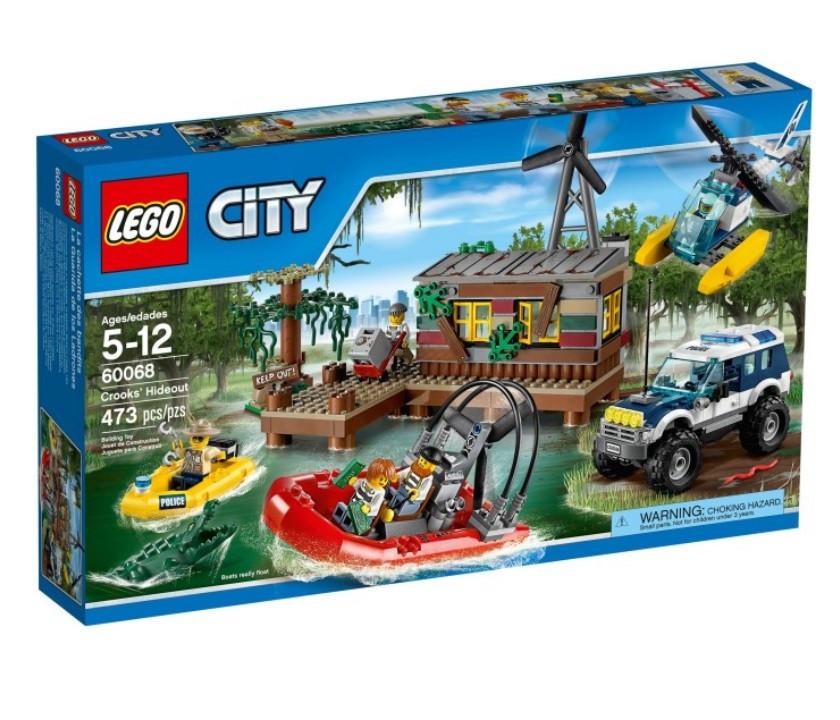 60068 Lego City Секретное убежище воришек, Лего Город Сити