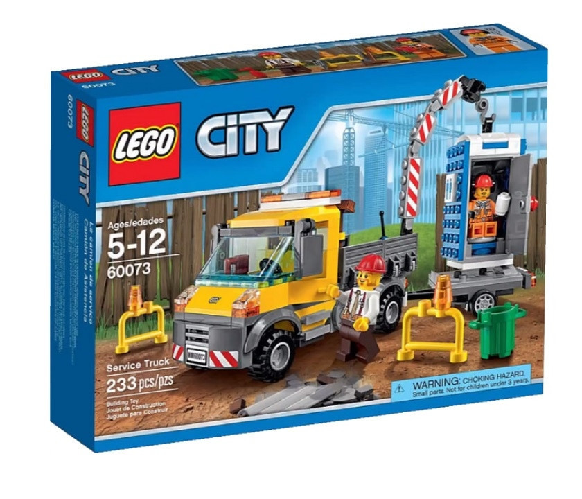 60073 Lego City Машина техобслуживания, Лего Город Сити