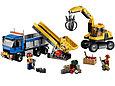 60075 Lego City Экскаватор и грузовик, Лего Город Сити, фото 4