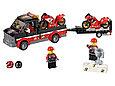 60084 Lego City Перевозчик гоночных мотоциклов, Лего Город Сити, фото 6