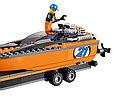 60085 Lego City Внедорожник 4x4 с гоночным катером, Лего Город Сити, фото 6