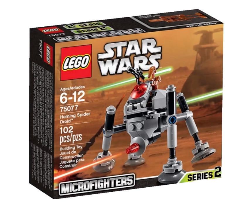75077 Lego Star Wars Самонаводящийся дроид-паук™, Лего Звездные войны