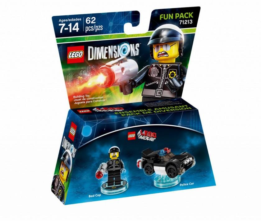 71213 Lego Dimensions Lego Movie: Плохой полицейский (Fun Pack)