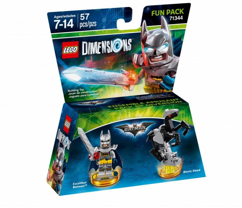 71344 Lego Dimensions Бэтмен и меч короля Артура (Fun Pack)