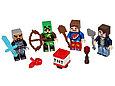 853609 Lego Minecraft Набор из 4 минифигурок Minecraft-1, Лего Майнкрафт, фото 2