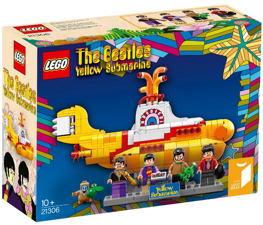 21306 Lego Ideas The Beatles: Жёлтая подводная лодка, Yellow Submarine