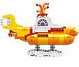 21306 Lego Ideas The Beatles: Жёлтая подводная лодка, Yellow Submarine, фото 3
