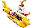 21306 Lego Ideas The Beatles: Жёлтая подводная лодка, Yellow Submarine, фото 4