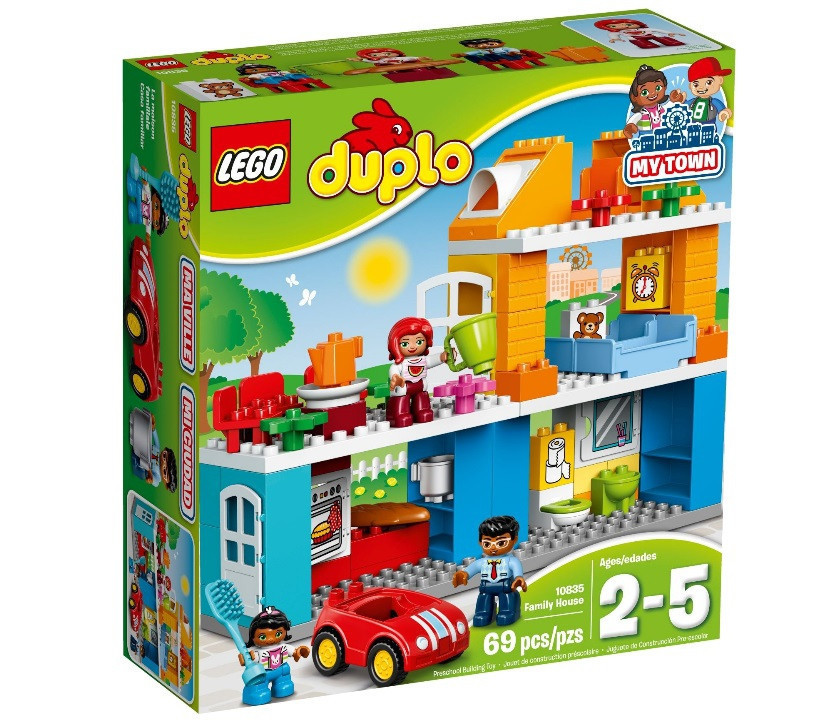 10835 Lego Duplo Семейный дом, Лего Дупло