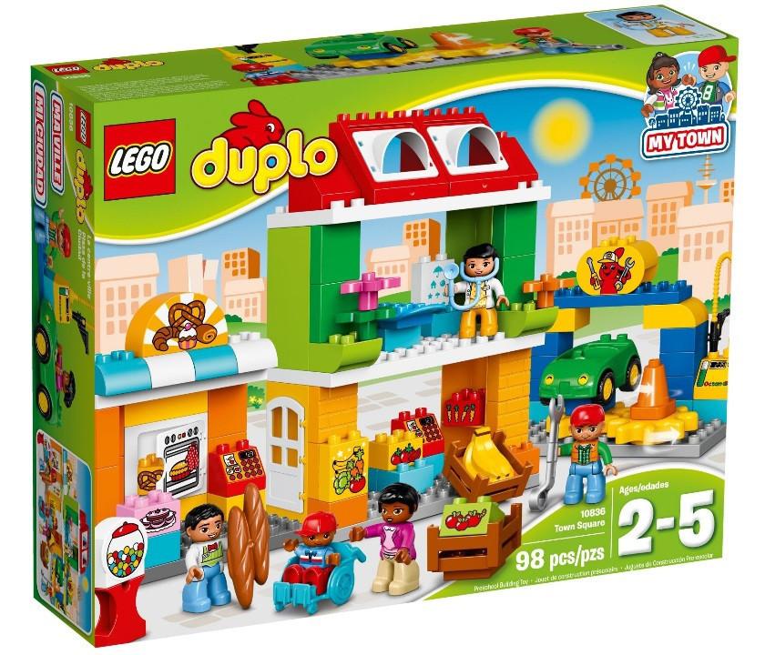 10836 Lego Duplo Городская площадь, Лего Дупло