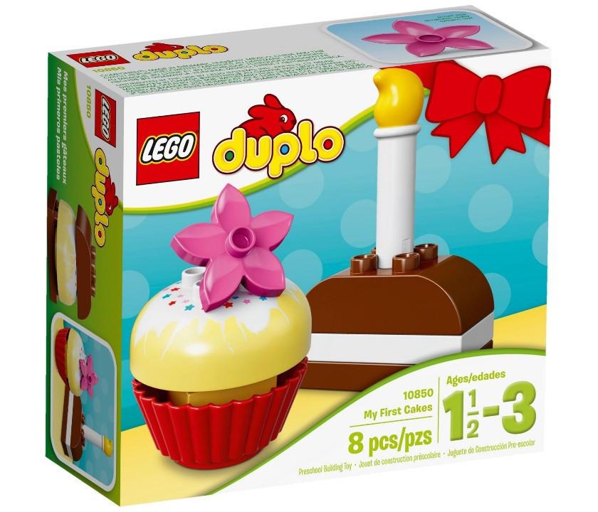 10850 Lego Duplo Мои первые пирожные, Лего Дупло