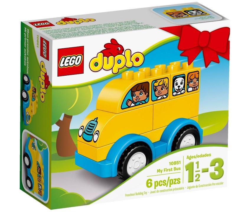 10851 Lego Duplo Мой первый автобус, Лего Дупло