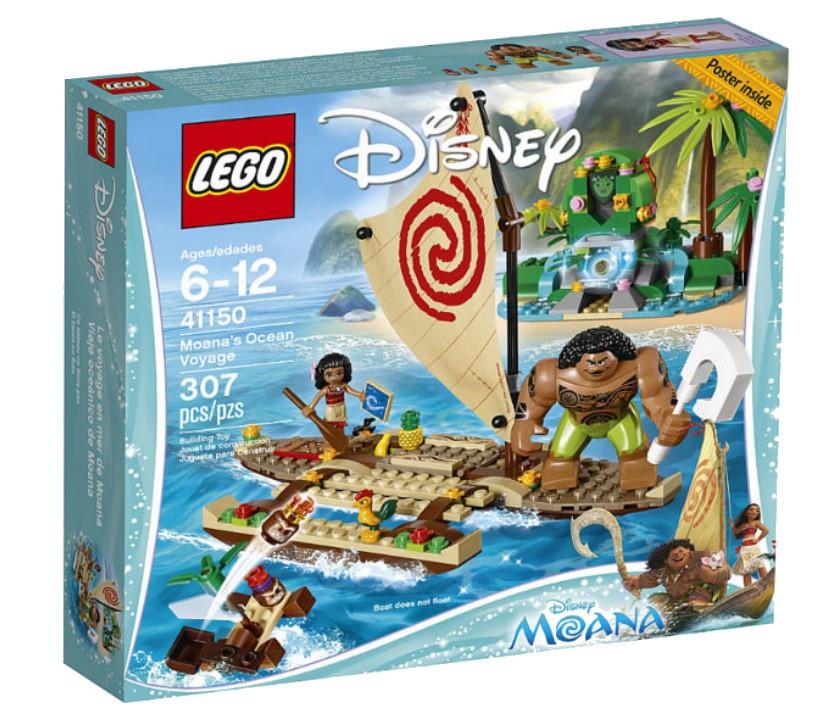 41150 Lego Disney Путешествие Моаны через океан™, Лего Принцессы Дисней