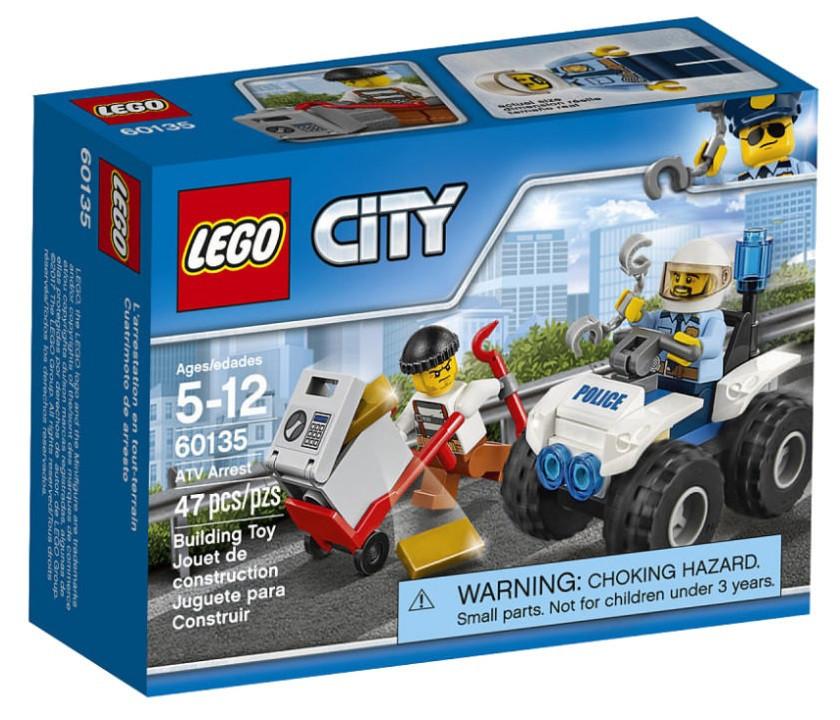 60135 Lego City Полицейский квадроцикл, Лего Город Сити
