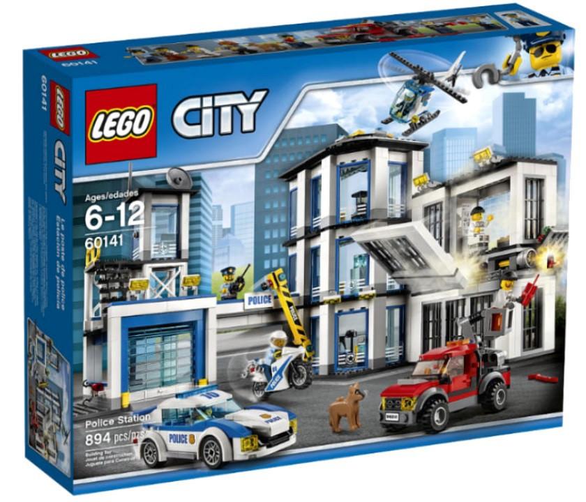 60141 Lego City Полицейский участок, Лего Город Сити