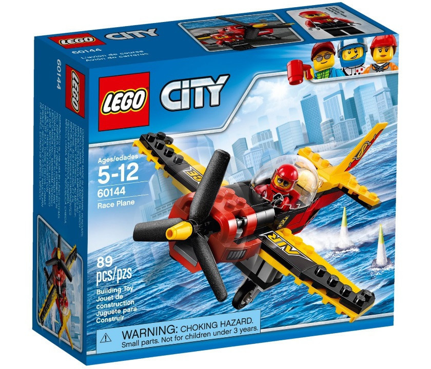 60144 Lego City Гоночный самолёт, Лего Город Сити