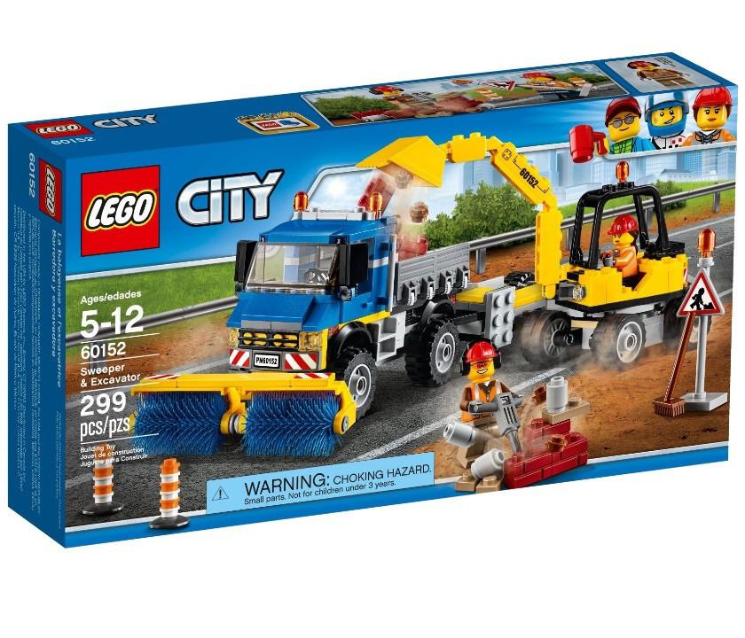60152 Lego City Уборочная техника, Лего Город Сити