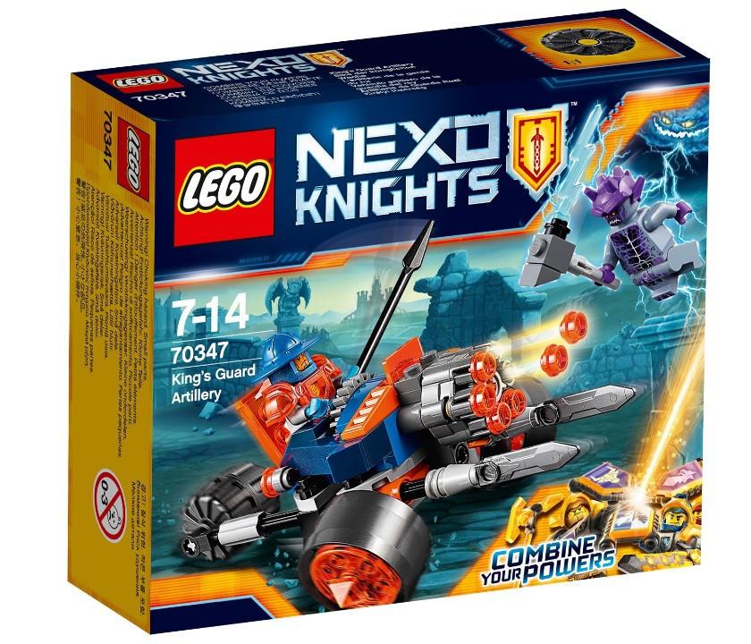 70347 Lego Nexo Knights Самоходная артиллерийская установка королевской гвардии, Лего Рыцари Нексо
