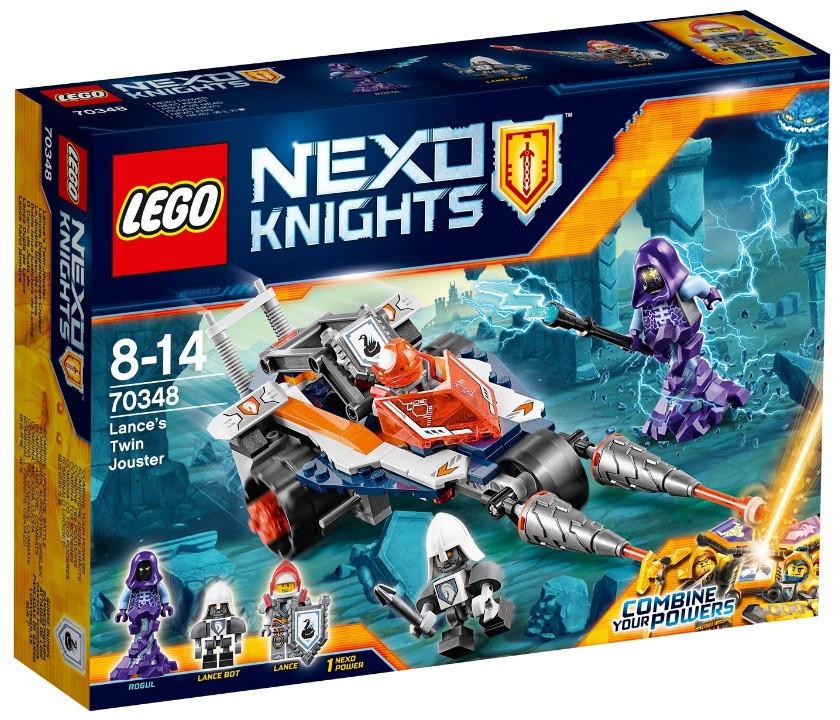 70348 Lego Nexo Knights Турнирная машина Ланса, Лего Рыцари Нексо