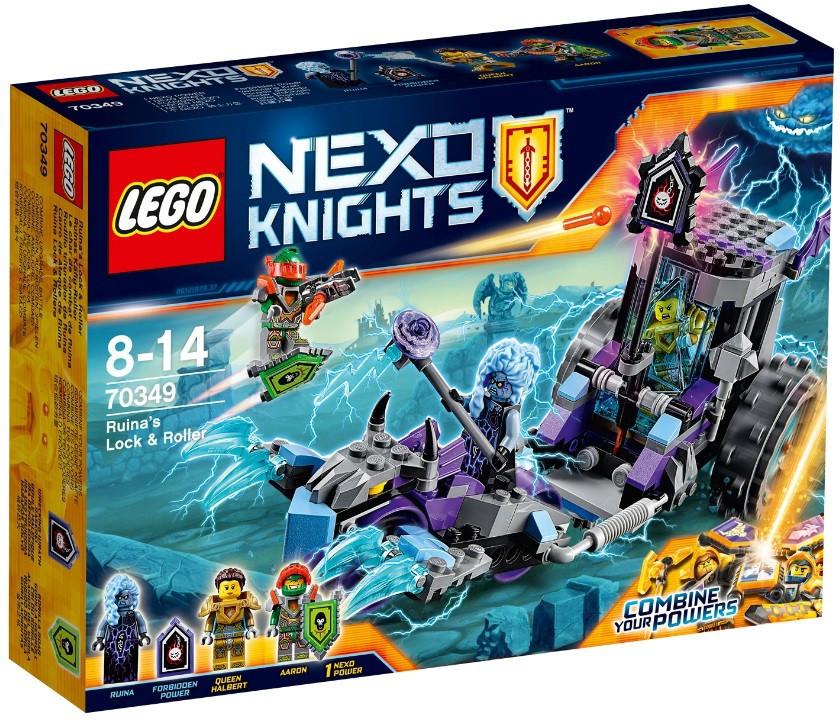 70349 Lego Nexo Knights Мобильная тюрьма Руины, Лего Рыцари Нексо