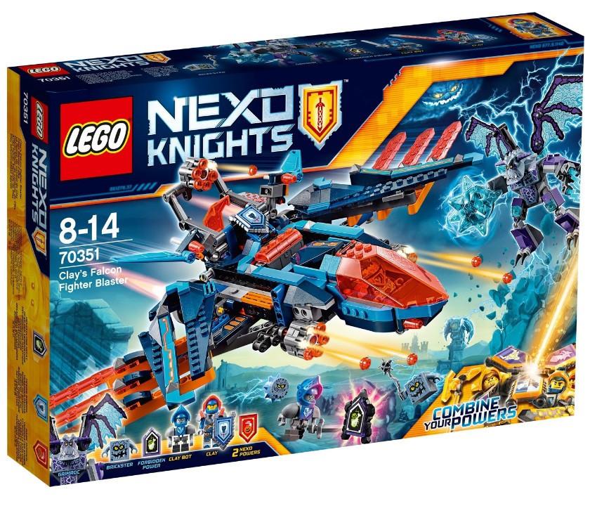 70351 Lego Nexo Knights Самолёт-истребитель Сокол Клэя, Лего Рыцари Нексо