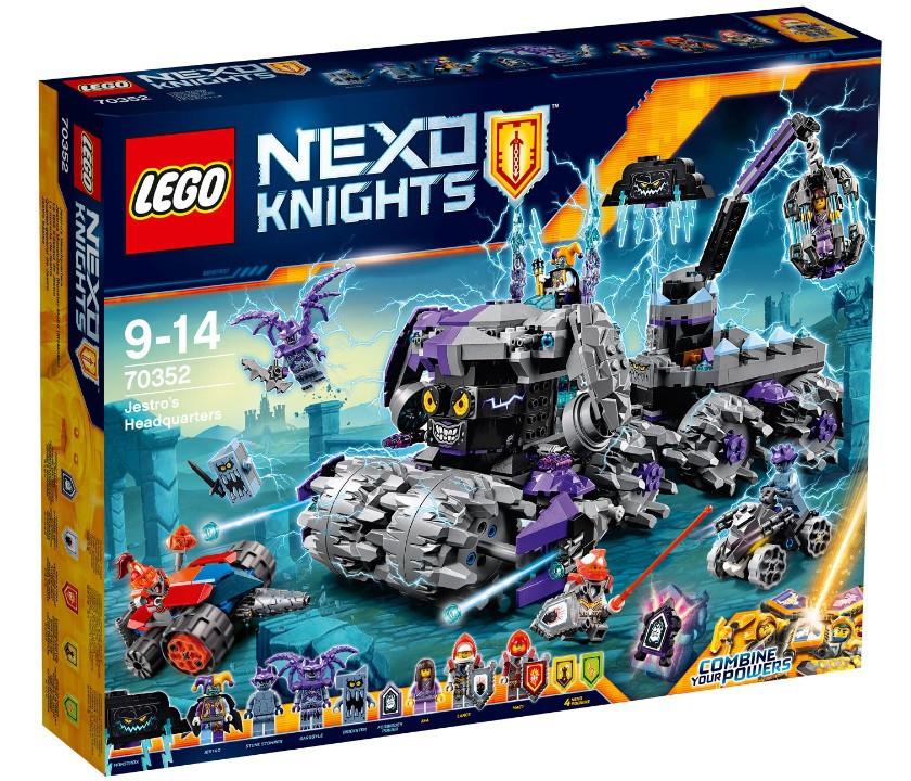 70352 Lego Nexo Knights Штурмовой разрушитель Джестро, Лего Рыцари Нексо